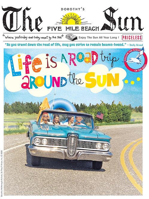 Wildwood Sun by the sea calendar