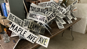 Announcing the 2021 Street Sign & More Auction To Benefit Wildwood Historical Museum