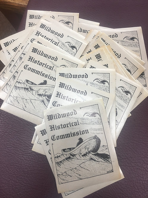 Vintage 1962 Wildwood Historical commission sticker