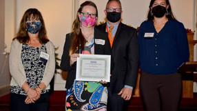 Wildwood Historical Society President Taylor Henry wins Young Preservationist Award