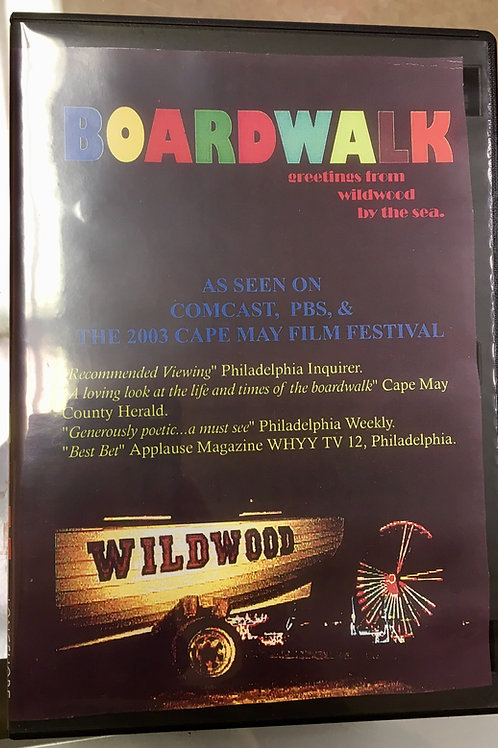 BOARDWALK: Greetings from Wildwood By The Sea DVD