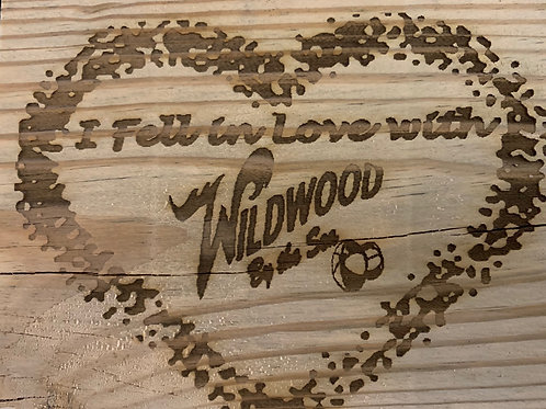 Genuine Wildwood Boardwalk with Custom Text