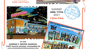 """""""Wildwood Days of Doo Wop"""" book signing at museum August 15, 2021 12-5 pm"""