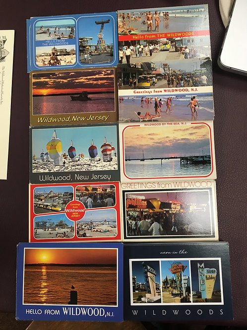 Wildwood NJ Postcards