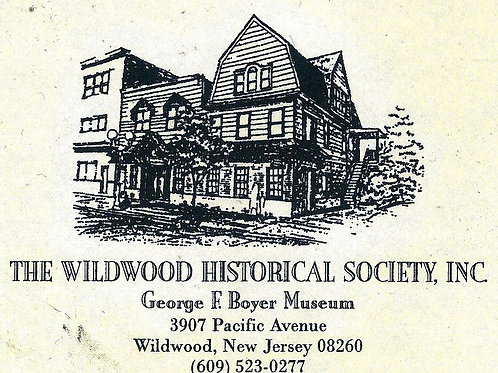 Lifetime Membership to Wildwood Historical Society