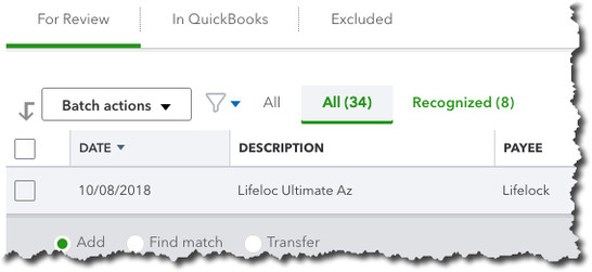 Getting Started with Accounts in QuickBooks Online, Part 1