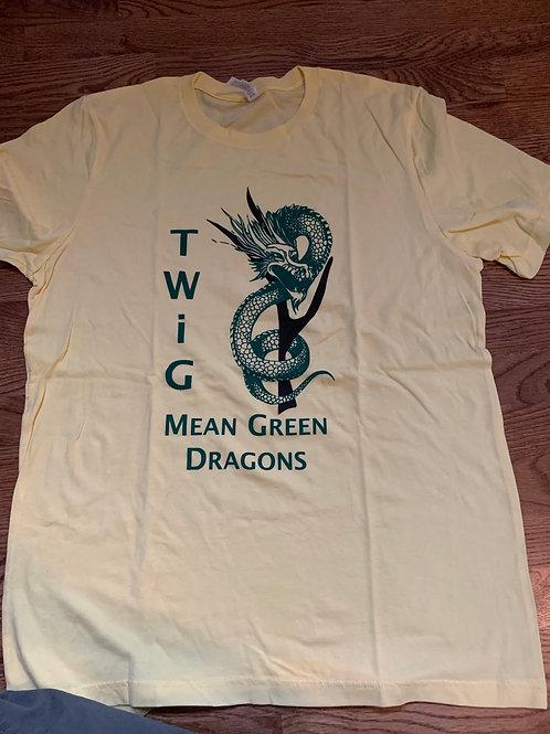 Mean Green Dragons Tee
