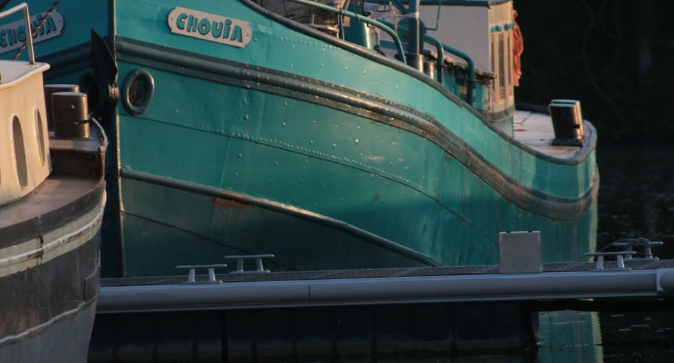 Port ilon, yvelines, péniche la Chouia.J