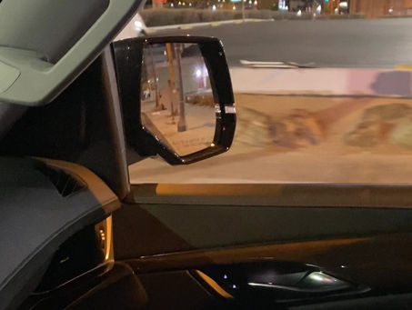 Reverse Drive-Through Night