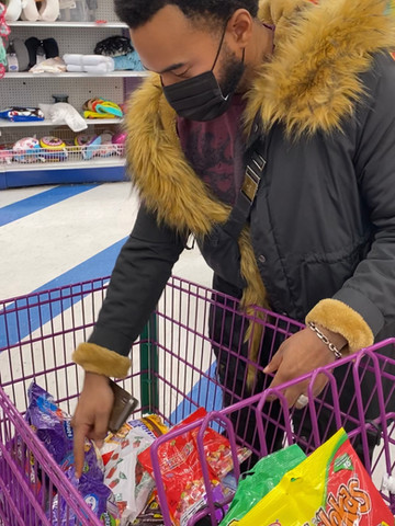 Shopping for Candy