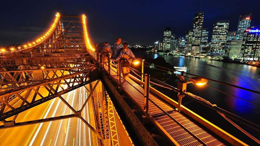Brisbane's Story Bridge Deluxe Climb - Nighttime