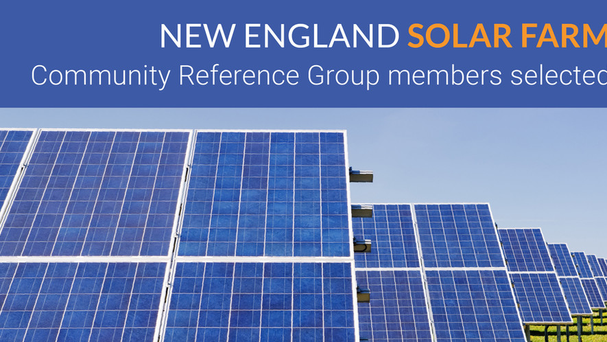 Community Reference Group members selected