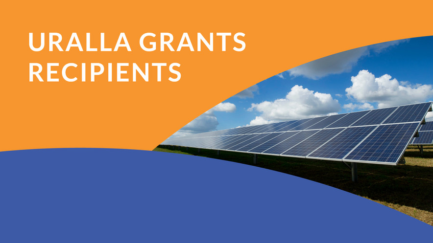 Fourteen projects supported by the first round of the Uralla Grants program