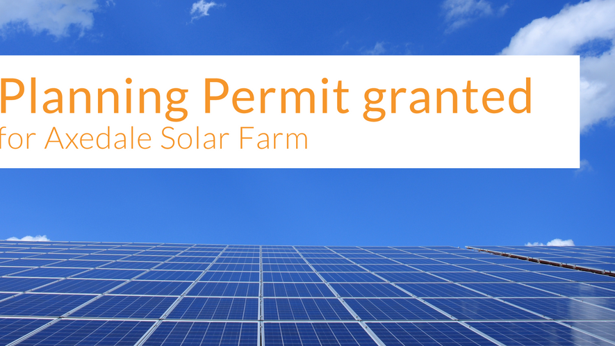 Planning Permit granted for Axedale Solar Farm