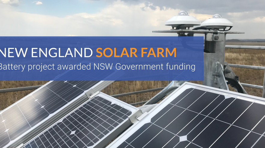 Battery project awarded NSW Government funding