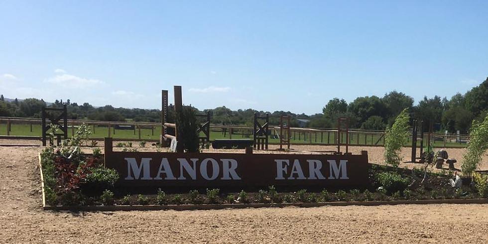 FLATWORK AT MANOR FARM, KINGSEY
