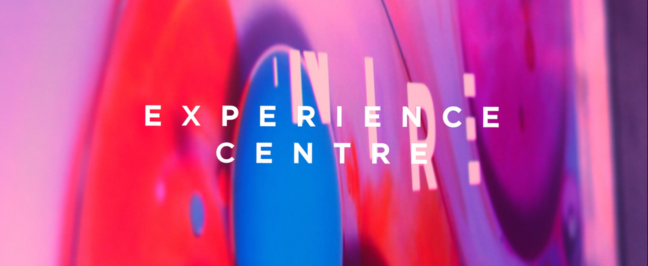 The Experience Centre - where my creativity is everywhere but advertising.