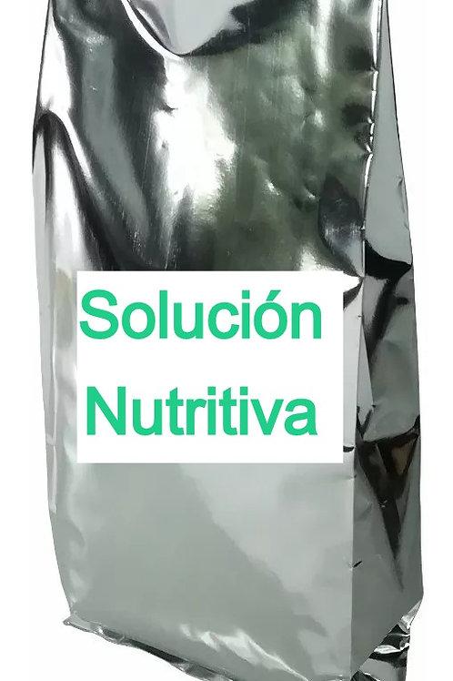 Solución Nutritiva para Hidroponía. 400 L