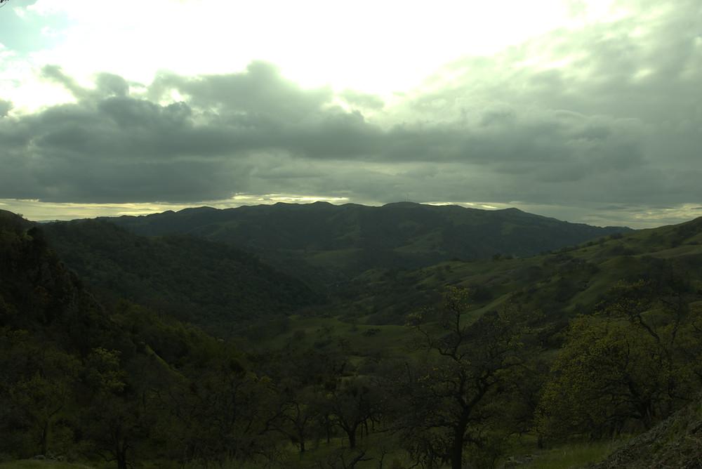 Twilight over Ohlone Wilderness Regional PReserve