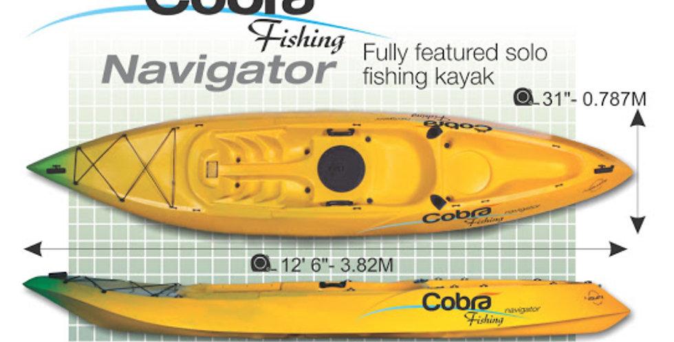 Cobra Kayak Navigator Fishing