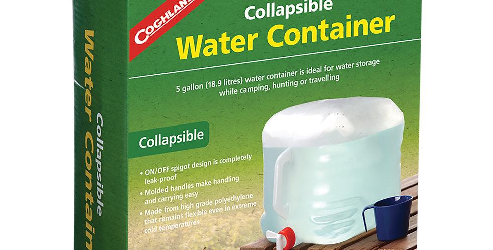Coghlans Contenedor Colapsable para Agua 5 Gal