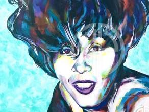 Spontaneous Realism Portrait of Whitney Houston by Savvy Palette