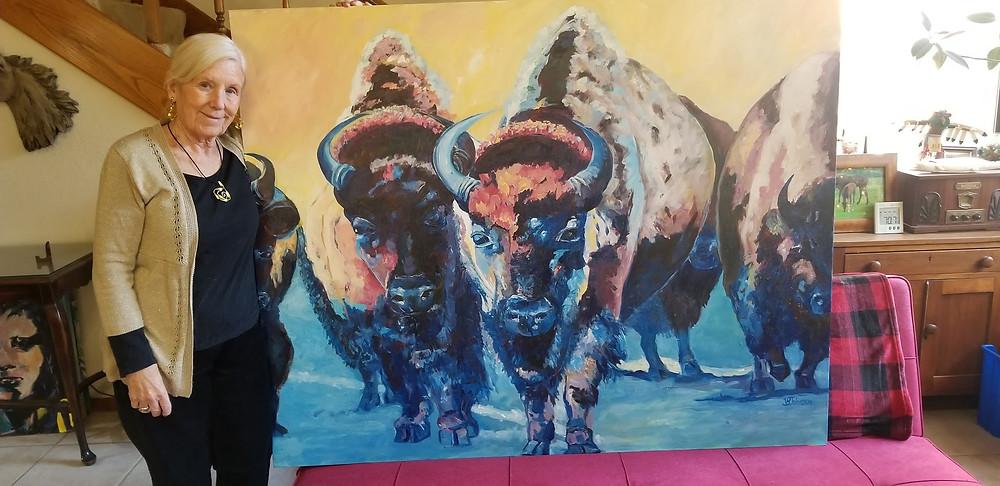 Artist, Virginia Johnson