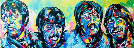 Spontaneous Realism Commission of the Beatles by Savvy Palette