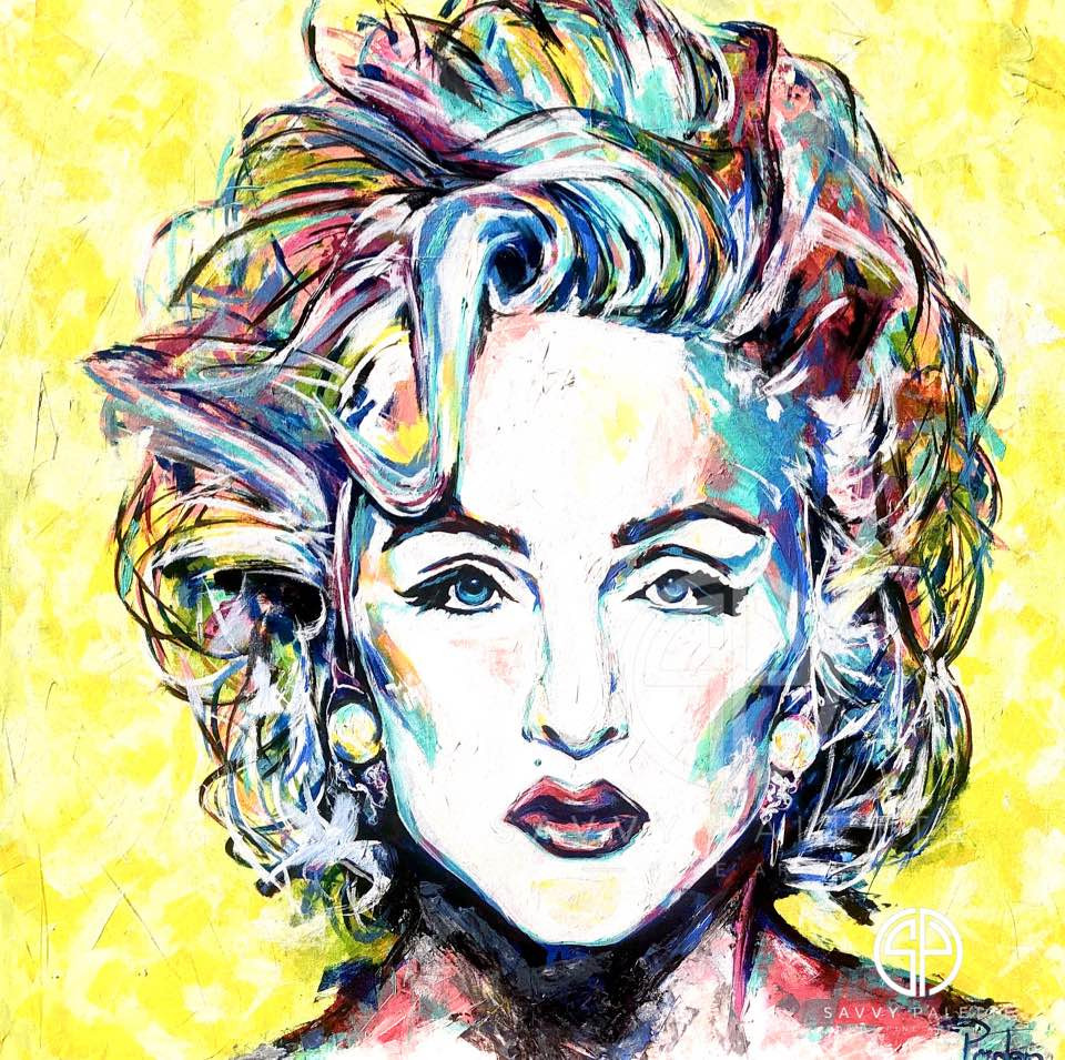 Spontaneous Realism Portrait of Madonna by Savvy Palette