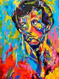 Spontaneous Realism portrait of Sylvester Stallone by Matthew R. Paden