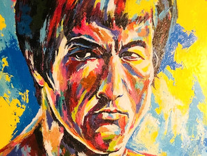 New Spontaneous Realism Portrait of Bruce Lee by Savvy Palette