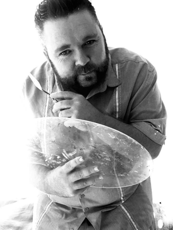 Artist & owner of Savvy Palette - Matthew R. Paden