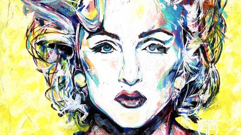 New Spontaneous Realism of the Material Girl, Madonna by Savvy Palette