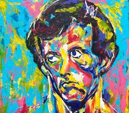 Spontaneous Realism portrait of Sylvester Stallone as Rocky Balboa by Matthew R. Paden