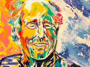 A Pirate Looks Forty - Spontaneous Realism Portrait of Jimmy Buffett by Savvy Palette