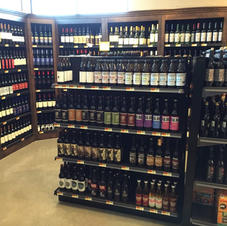 Newberry Farms Market~Beer and Wine Room