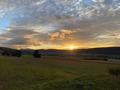 Sonnenaufgang Jura