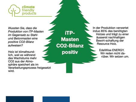 iTP-Masten CO2-Bilanz positiv!