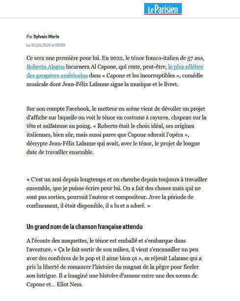 Capone - Le Parisien - Juin 2020.jpg