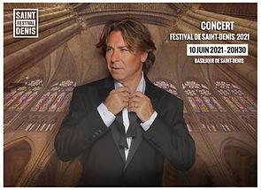 Concert Festival Saint-Denis Roberto Alagna Basilique