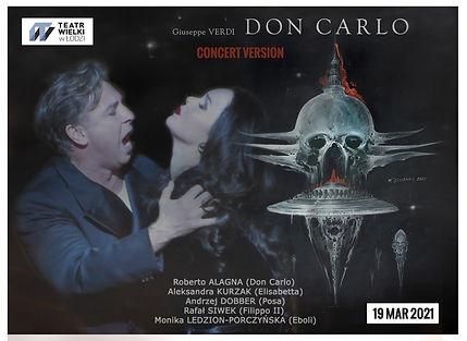 DON CARLO LODZ Concert 190321 Alagna Kur