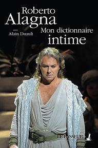 Couv Mon Dictionnaire Intime, Alagna, Le