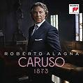 Roberto Alagna, Album CD Caruso 1873, Pochette