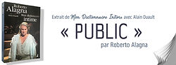"""Entrée """"Public"""", Dictionnaire Intime, Al"""