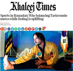 Sports in Ramadan: Why balancing Taekwondo moves while fasting is uplifting