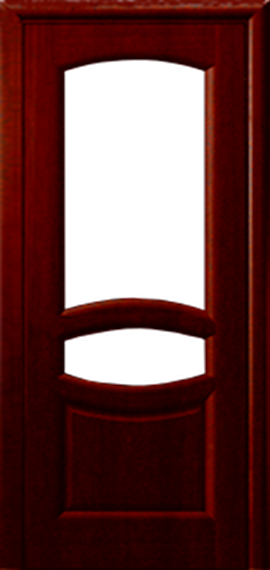 Веста красное дерево ДО 2 стекла