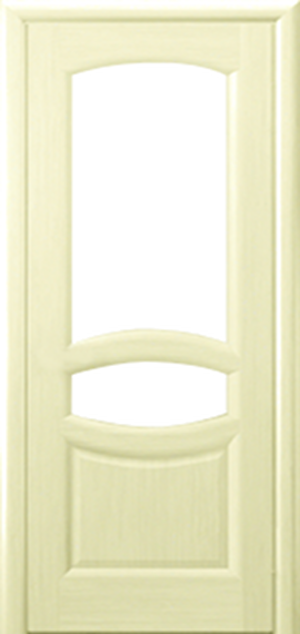Веста беленый дуб ДО 2 стекла