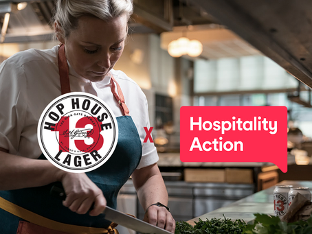 Hop House 13 x Hospitality Action for St. Patrick's Day