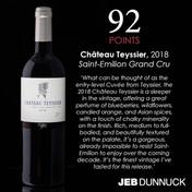 JCP Maltus, Château Teyssier Saint-Emilion Grand Cru 2018 - Jeb Dunnuck