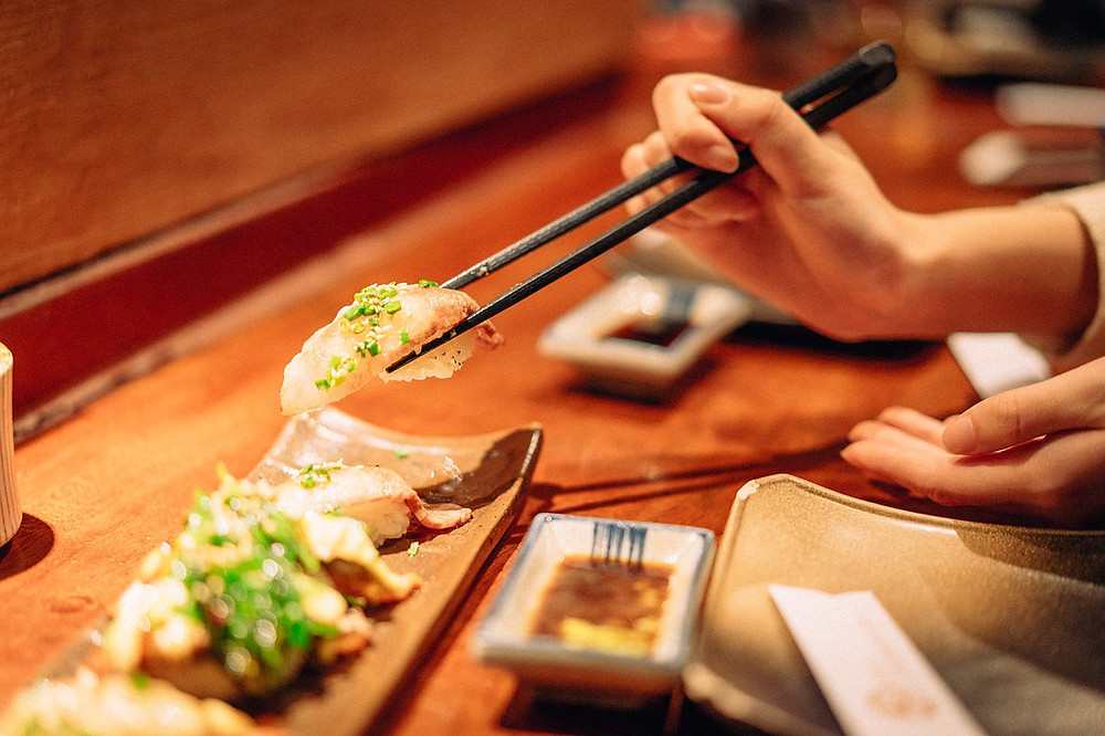 cucina giapponese sushi sashimi abbinamento cibo vino
